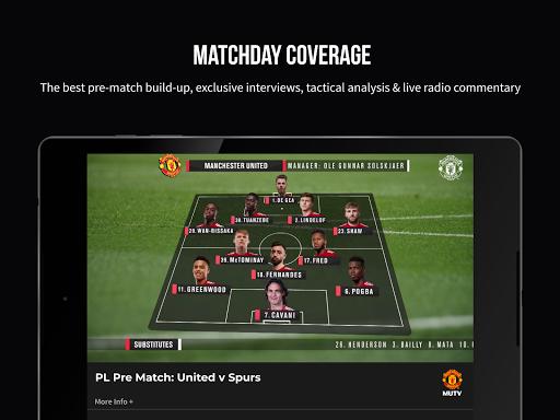 MUTV u2013 Manchester United TV screenshots 9