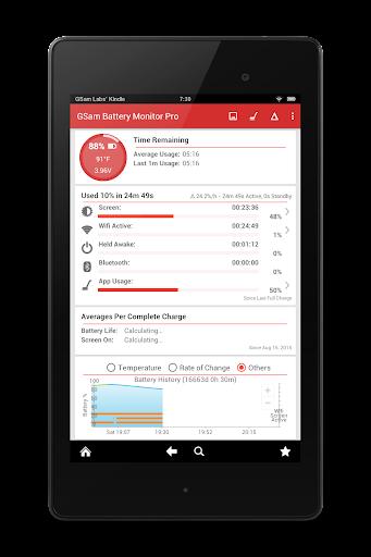 GSam Battery Monitor Pro  screenshots 9