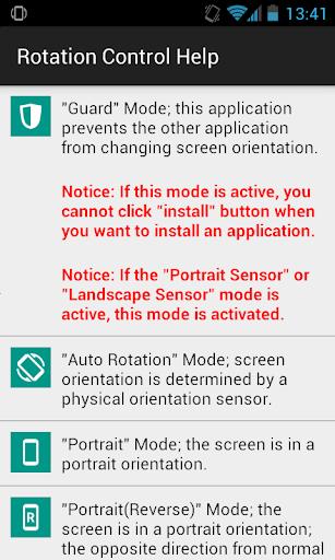 Rotation Control 1.0 Screenshots 3