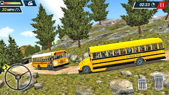 Offroad High School Bus Simulator Free 5