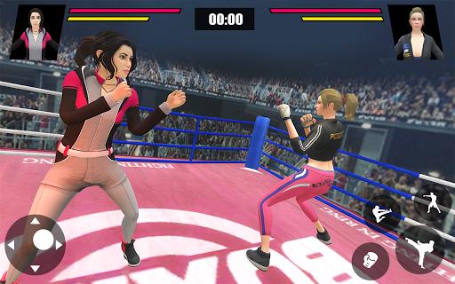 Women Wrestling Ring Battle: Ultimate action pack apkslow screenshots 9
