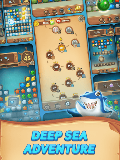 Ocean Hunter : Match 3 Puzzle 1.0.8 screenshots 15