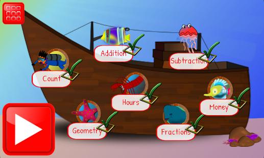 First Grade Math Learning Game 6.3 screenshots 1