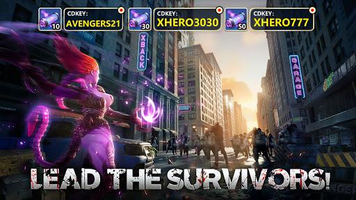 X-HERO: Idle Avengers  screenshots 1