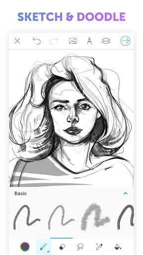 PicsArt Color - Painting, Drawing & Sketch  screenshots 4