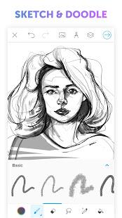 Picsart Color - Painting, Drawing & Sketch 2.9 Screenshots 4