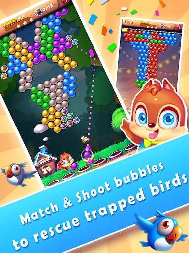 Bubble Bird Rescue 2 - Shoot! 3.1.9 screenshots 9
