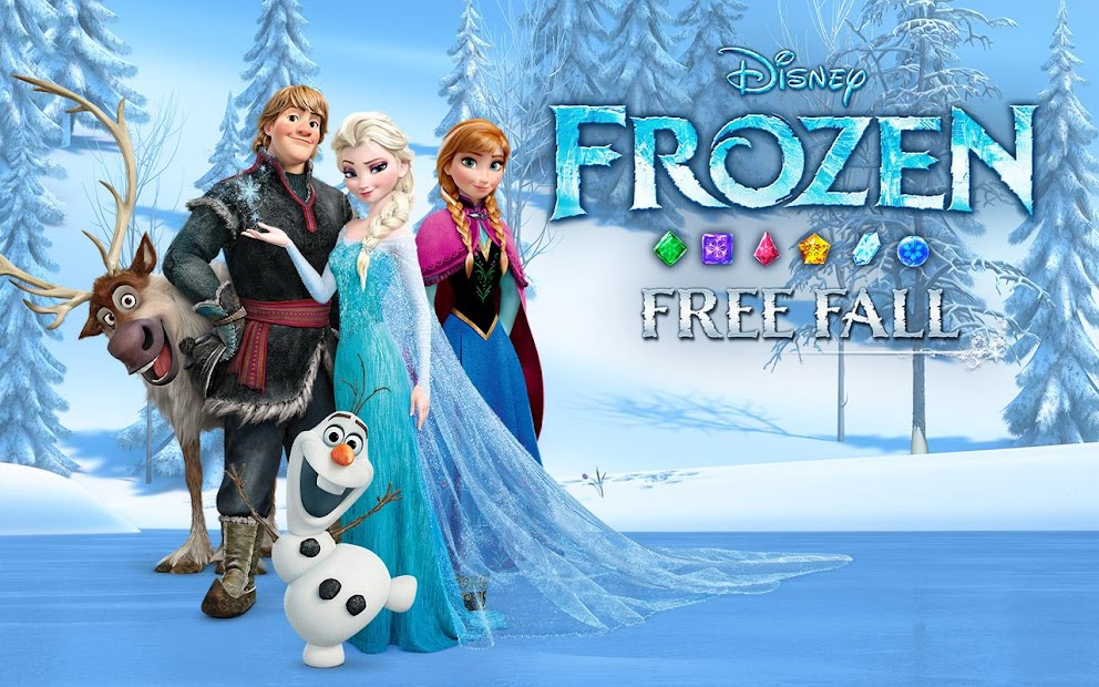 Disney Frozen Free Fall - Play Frozen Puzzle Games screenshot 5