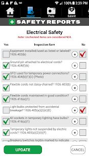 Safety Reports Inspection App
