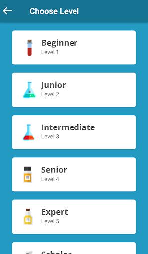 periodic table quiz screenshot 2