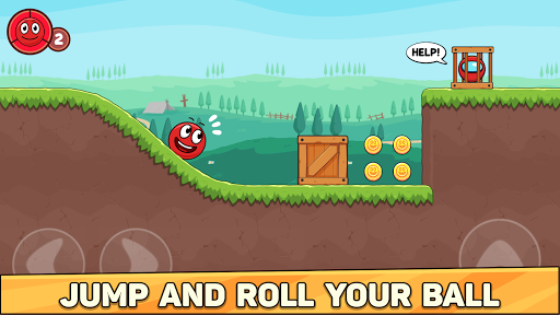 Bounce Ball 6: Red Bounce Ball Hero 2.3 screenshots 1