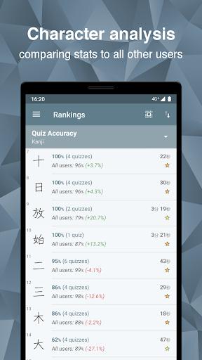 Japanese Kanji Study - u6f22u5b57u5b66u7fd2 4.7.4 Screenshots 6