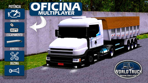 Atualizau00e7u00e3o World Truck Driving Simulator - Ag modavailable screenshots 1