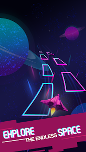 Dancing Planets – Piano Tile Jump, Planet Runner 7