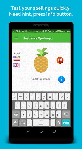 Spelling: Fruit & Vegetable 1.0.2 screenshots 3