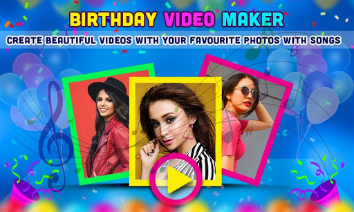 Birthday Video Maker with Song and Name 2021 android2mod screenshots 2