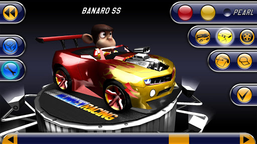 Monkey Racing Free 1.0 screenshots 2