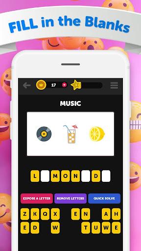 Guess The Emoji - Trivia and Guessing Game! apktreat screenshots 2