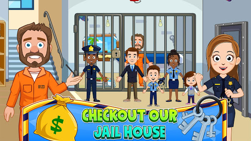 My Town : Police Station. Policeman Game for Kids screenshots 3