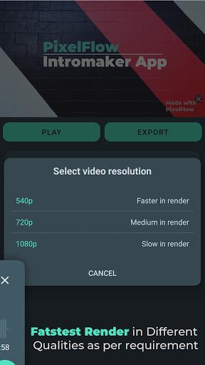PixelFlow - Intro maker and Animation Creator  Screenshots 8