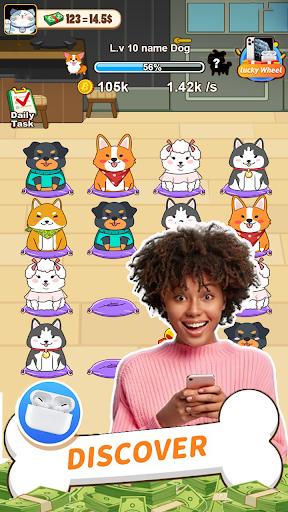 Code Triche Idle Puppy - Collect rewards online APK MOD (Astuce) screenshots 2
