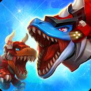 Dino War Mosas VS Tyranno