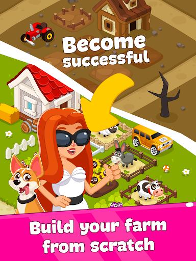 Game of Farmer: IDLE simulator. Farm games offline Apkfinish screenshots 7
