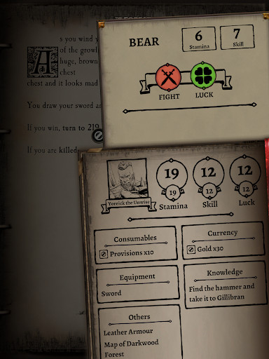 Fighting Fantasy Classics u2013 text based story game apkdebit screenshots 17