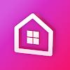 U+스마트홈(IoT@home) 대표 아이콘 :: 게볼루션