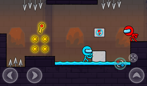 Red and Blue Stickman : Season 2 android2mod screenshots 13