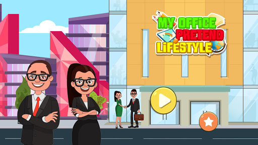 My Office Pretend Lifestyle: Play Town Busy Life screenshots 12