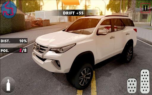 Code Triche Fortuner: Extreme Modern City Car Drift & Drive APK MOD (Astuce) screenshots 1