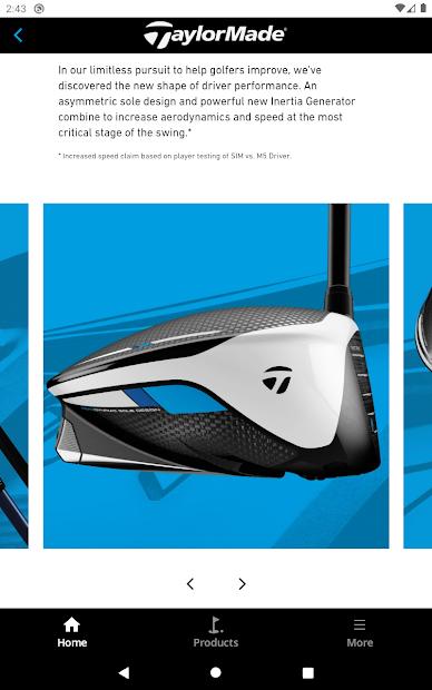 TaylorMade Golf Product Guide screenshot 7