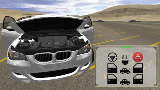 m5 e60 driving simulator screenshot 2