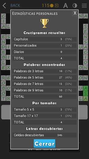 Crosswords - Spanish version (Crucigramas) 1.2.3 screenshots 23