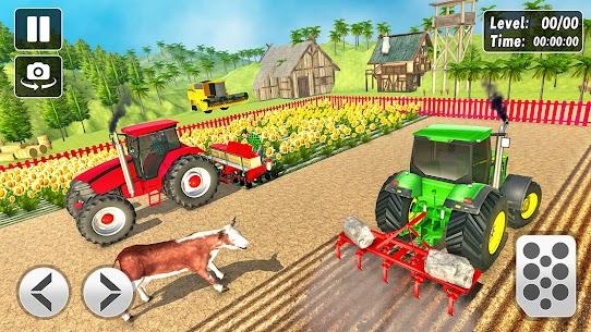 Tractor Farming Simulator 2021 Apk Download 5