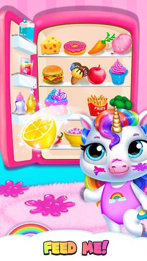 My Baby Unicorn - Virtual Pony Pet Care & Dress Up 9.0.24 screenshots 3
