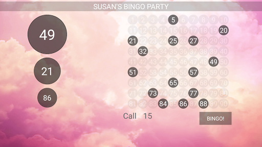 Bingo Caller Machine (free Bingo Calling App)  Screenshots 3