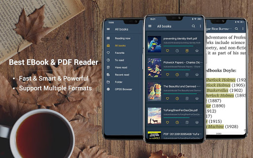 EBook Reader & PDF Reader 1.8.7.0 Screenshots 1