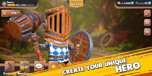 Big Helmet Heroes apkpoly screenshots 2