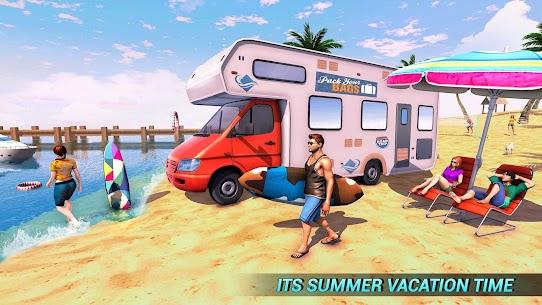 Real Camper Van Driving Simulator – Beach Resort 1.0.7 Mod APK (Unlimited) 2