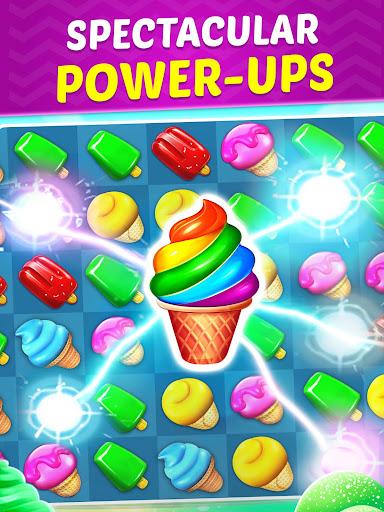 Ice Cream Paradise - Match 3 Puzzle Adventure  screenshots 11