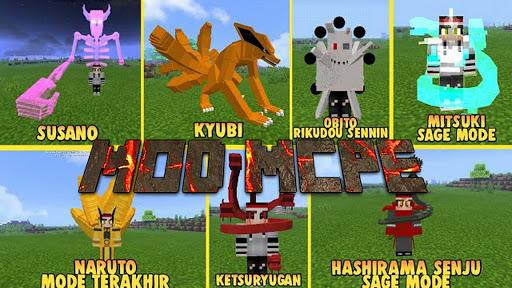 Mod Anime Heroes u2013 Mod Naruto for Minecraft PE 1.0.0 Screenshots 3
