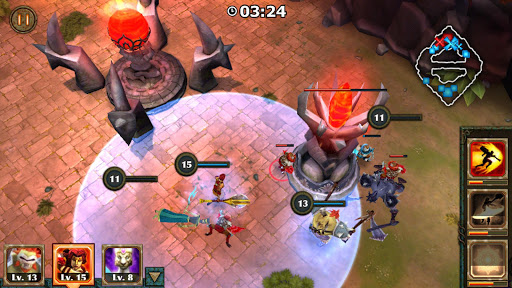 Legendary Heroes MOBA Offline 3.0.72 screenshots 4