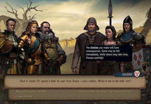 The Witcher Tales: Thronebreaker  screenshots 18