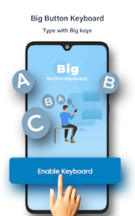 Big Buttons Typing Keyboard - Big Keys for Typing Screenshot