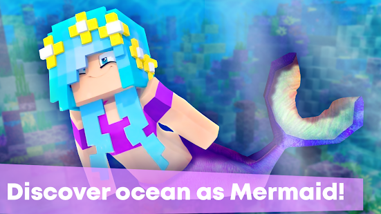 Mermaid Tail Mod for Minecraft PE Screenshot