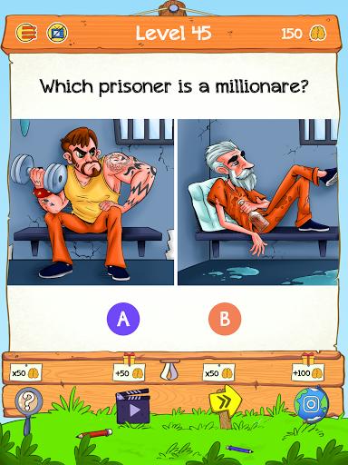 Braindom 2: Who is Lying? Fun Brain Teaser Riddles 1.2.8 Screenshots 12