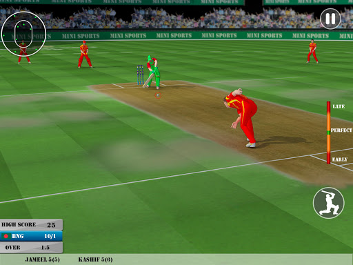 Cricket World Tournament Cup 2021: Play Live Game 7.7 screenshots 6