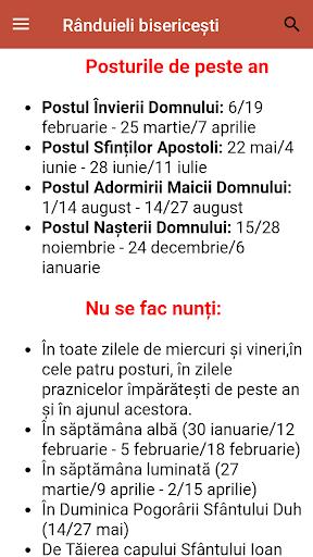 Calendar ortodox de stil vechi  Screenshots 4